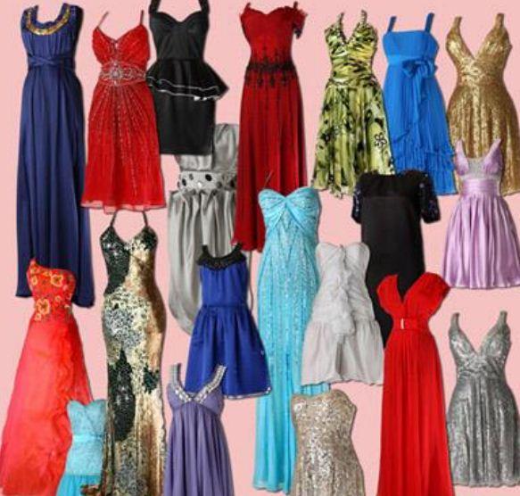 Модные платья в этом году