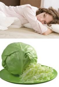 лечение аменореи капустным соком