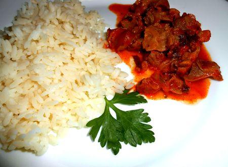 готовое блюдо куриные желудки