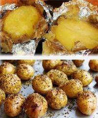 печеный картофель, как приготовить