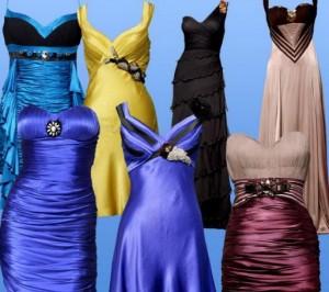 Платья в 2012 году