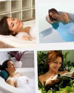 похудение с помощью ванн