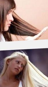 причины сухости волос