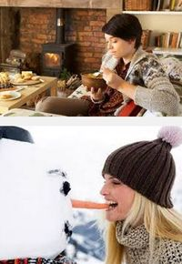 продукты питания зимой