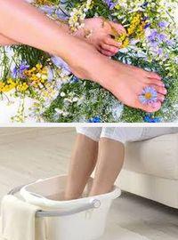 как снять отеки ног