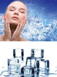 лед в косметических целях