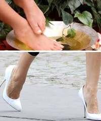 лечение ног народные средства