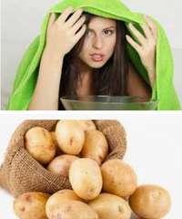 лечение картофелем, народные рецепты