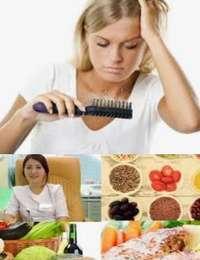 народные средства от седины и выпадения волос
