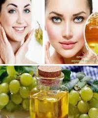 Применение виноградного масла для лица